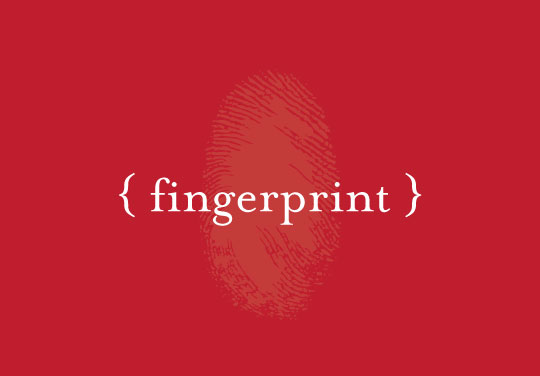 fingerprint designs portfolio work